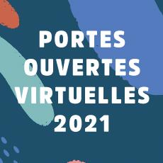 Portes ouvertes virtuelles 2021